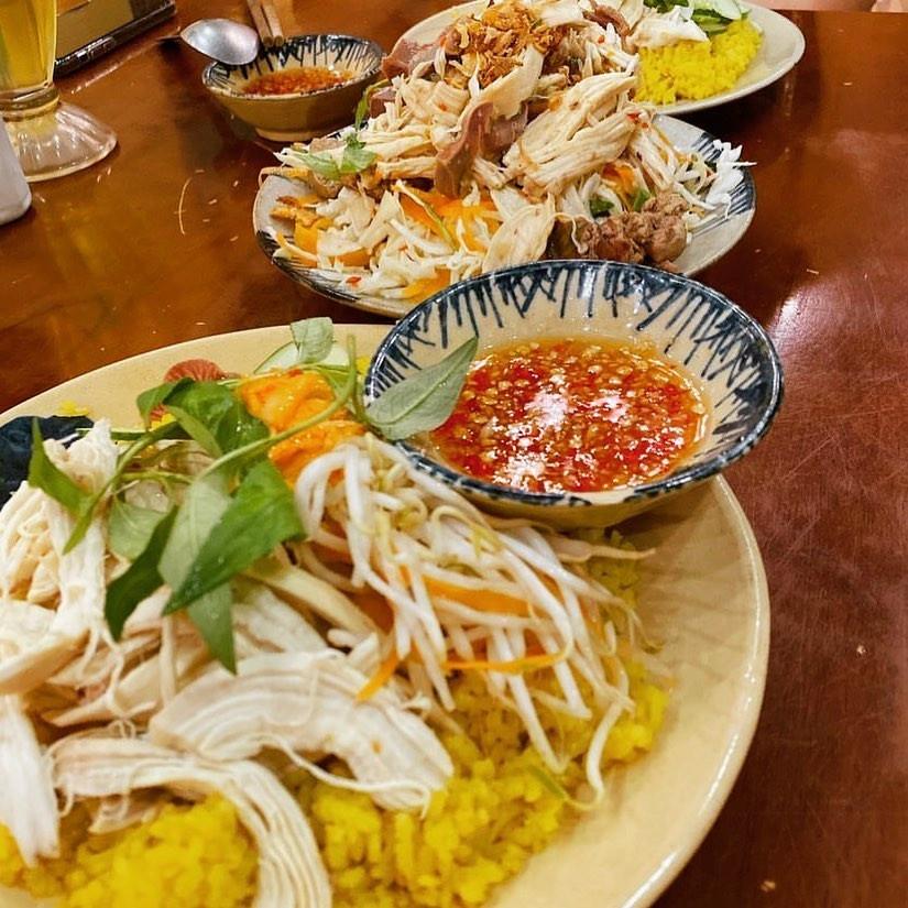 Đậm đà món cơm gà Phú Yên ngon khó cưỡng